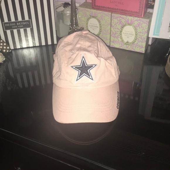 f53197f5a18 Dallas cowboys baby pink adjustable hat. M 5b5ccdbec61777f57a8edf30